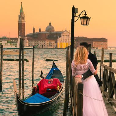 Hochzeit in Venedig erleben
